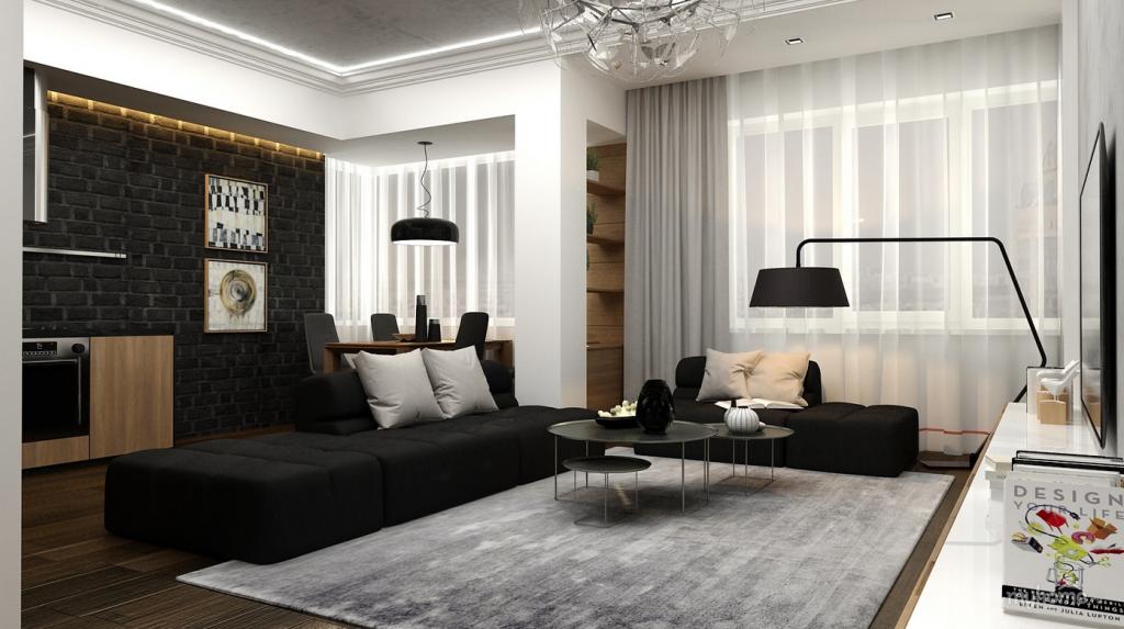 Wedo thiết kế nội thất phòng khách hiện đại,thoáng mát 5