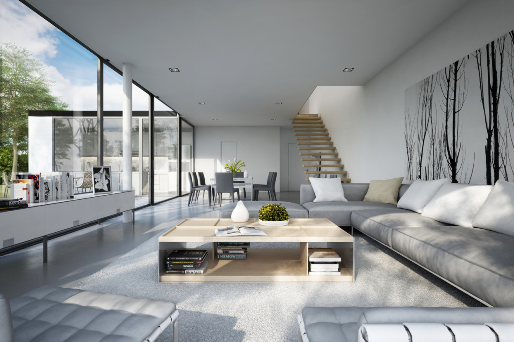 Wedo thiết kế nội thất phòng khách hiện đại,thoáng mát 22