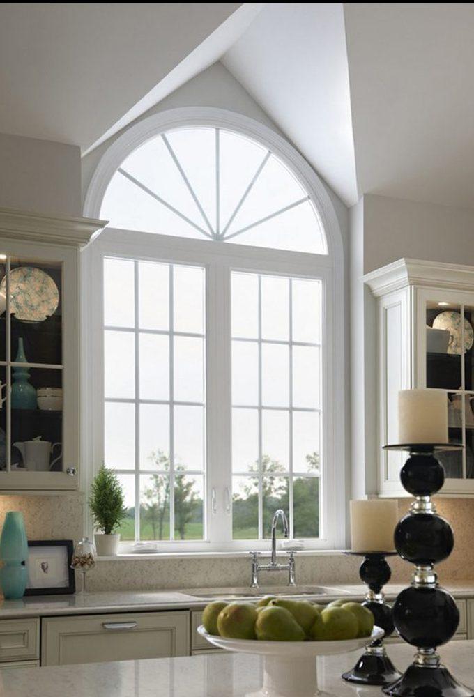 Cửa sổ đẹp cho phòng bếp