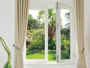 Cửa nhựa lõi thép 3a window tư vấn hướng mở cửa sổ