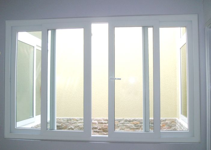 Mẫu cửa sổ nhựa lõi thép 3a window trượt ngang đẹp