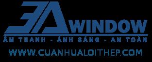 Logo liên kết cửa nhựa lõi thép 3A Window