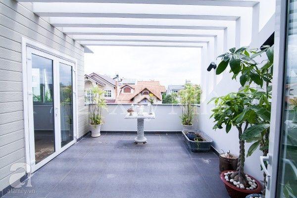 Căn hộ đẹp lung linh và gần gũi thiên nhiên nhờ hệ thống cửa nhựa lõi thép 3a window đẹp