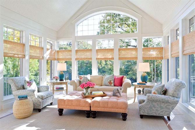 3A Window cung cấp cửa nhựa lõi thép đẹp cho phòng khách 1
