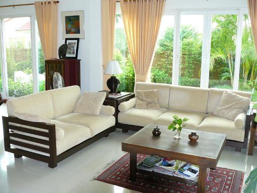 3A Window cung cấp cửa nhựa lõi thép đẹp cho phòng khách 10