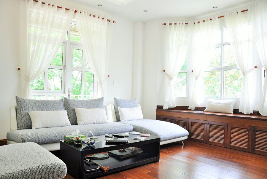 3A Window cung cấp cửa nhựa lõi thép đẹp cho phòng khách 11
