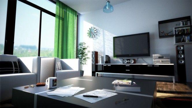 3A Window cung cấp cửa nhựa lõi thép đẹp cho phòng khách 16