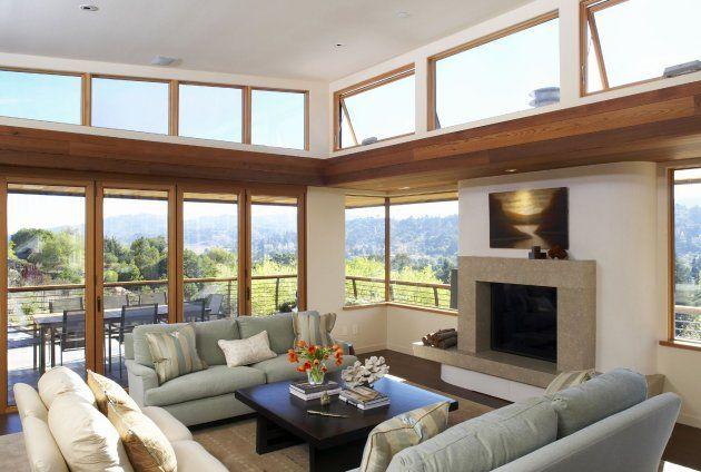 3A Window cung cấp cửa nhựa lõi thép đẹp cho phòng khách 18