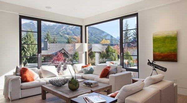 3A Window cung cấp cửa nhựa lõi thép đẹp cho phòng khách 2