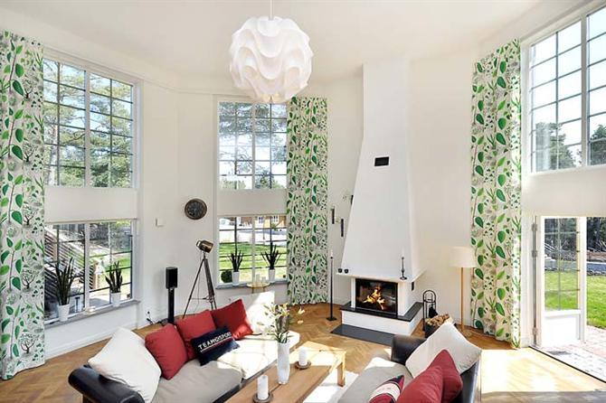 3A Window cung cấp cửa nhựa lõi thép đẹp cho phòng khách 4
