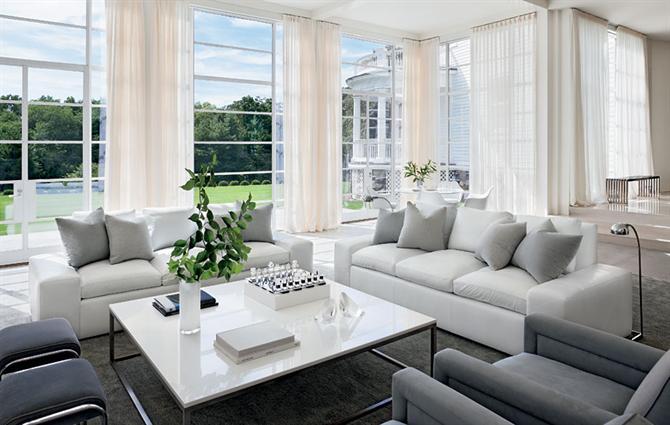3A Window cung cấp cửa nhựa lõi thép đẹp cho phòng khách 5