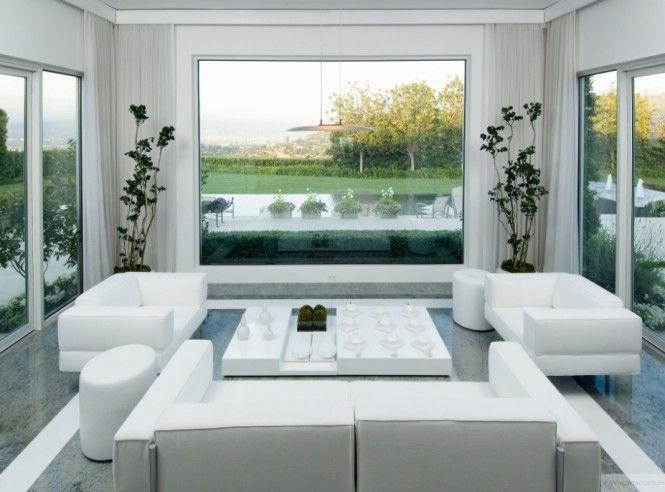 3A Window cung cấp cửa nhựa lõi thép đẹp cho phòng khách 7