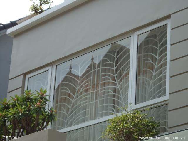 Mẫu cửa nhựa lõi thép cho nhà đẹp