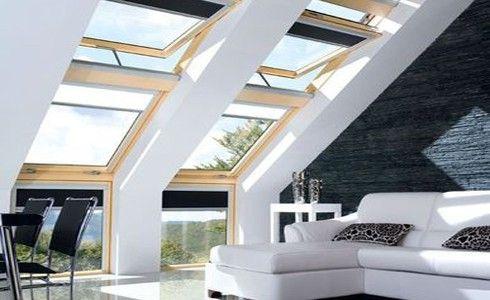Làm đẹp tầng áp mái với cửa nhựa lõi thép 3a window