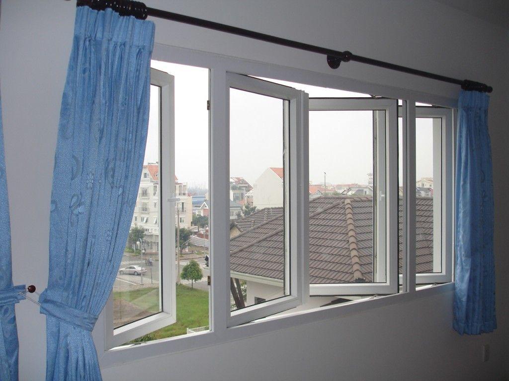 Lắp đặt cửa nhựa lõi thép 3a window đẹp và hợp phong thủy cho văn phòng