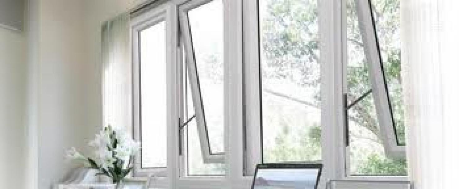 Mẫu cửa sổ nhựa lõi thép 3a window hất ra ngoài đẹp