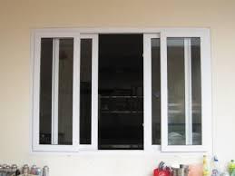 Mẫu cửa sổ nhựa lõi thép 3a window mở trượt đẹp