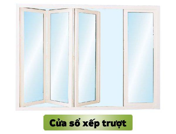 Mẫu cửa sổ nhựa lõi thép 3a window mở xếp trượt đẹp
