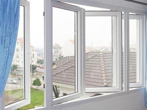 Mẫu cửa sổ nhựa lõi thép 3a window mở quay đẹp