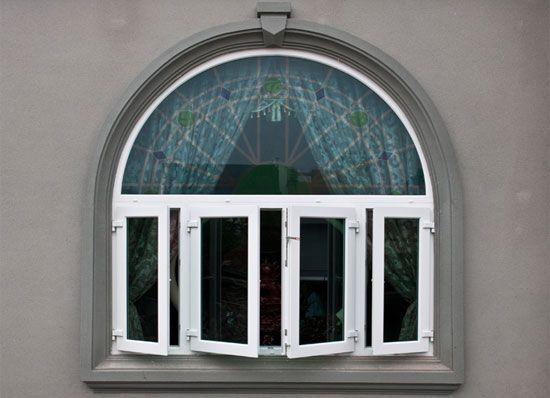 Mẫu cửa sổ nhựa lõi thép 3a window mở quay đẹp cho mọi ngôi nhà