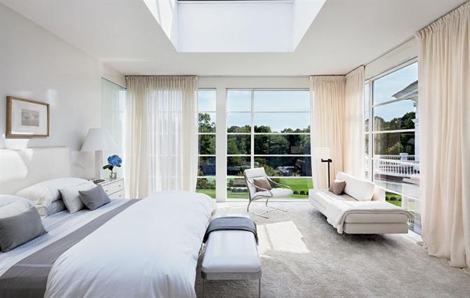 Phòng ngủ chan hòa với thiên nhiên