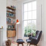 góc đọc sách, thư giãn đẹp và lãng mạn bên cửa sổ