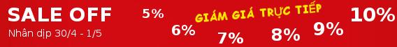 Khuyến mại nhân dịp 30/4-1/5 - Cửa nhựa lõi thép giảm 10% cho khách hàng