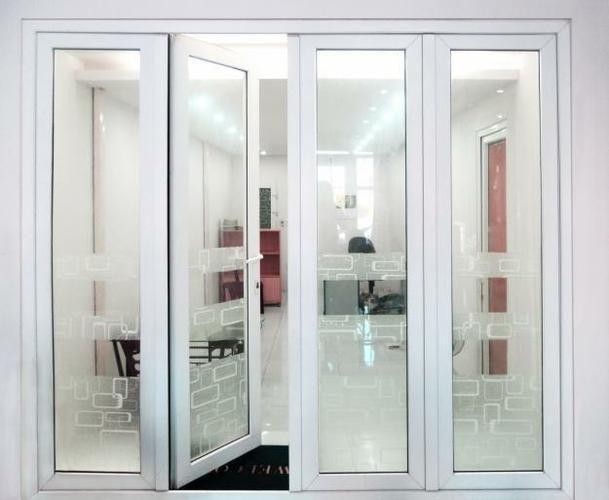 mẫu cửa nhựa lõi thép 3a window đẹp cho văn phòng