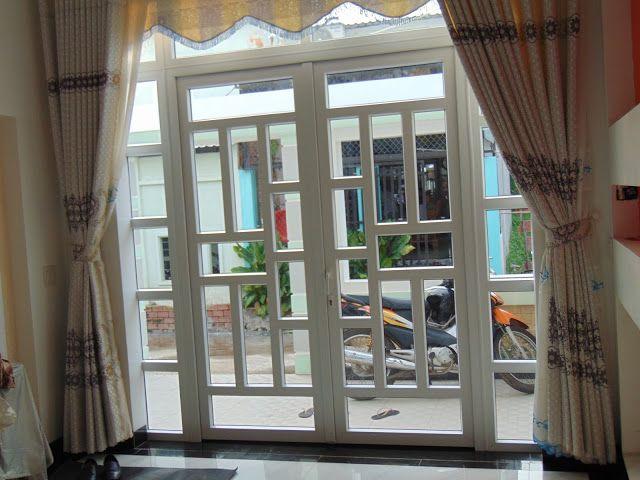 cửa nhựa lõi thép đẹp cho nhà mặt phố