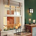 Các căn hộ chung cư thường có cửa sổ đối diện nhau không tốt đẹp.